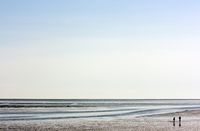 Horizon at Wadden Sea