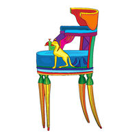 Postmodern Empire chair