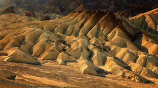 Zabriskie Point, sunrise, sun, Death Valley
