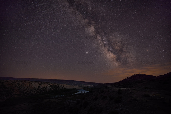 The Milky Way over Jensen, Utah, USA