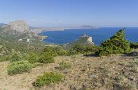 Black Sea coast. Crimea.