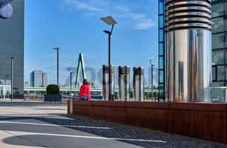 Tourist in Cologne