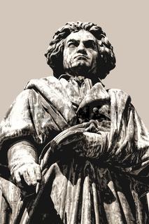 The Beethoven Monument, Bonn, North Rhine-Westphalia, Germany, Europe