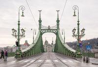 Liberty Bridge or Freedom Bridge in Budapest