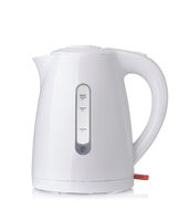 White plastic electric kettle