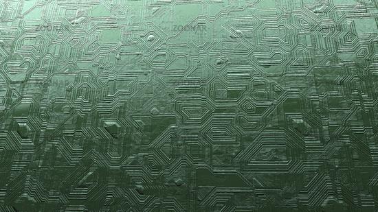 strange circuit board background