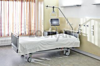 Zimmer Bett Krankenhaus