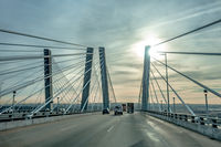 Tappan Zee Bridge across Hudson River