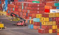 Container Terminal of Cargo Port of Odessa, Ukraine