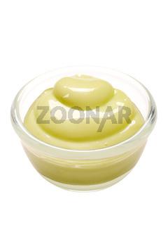 wasabi mayonnaise isolated