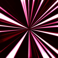 speed light trace from dark background
