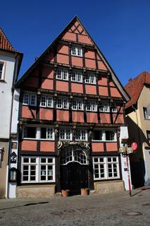 Ein Fachwerkhaus in Osnabrück