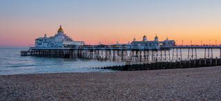 Eastbourne Pier at the South Coast of England