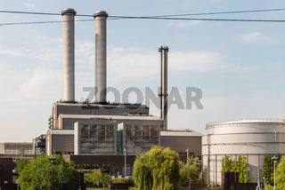 Vattenfall Industrial area in central Berlin, Germany