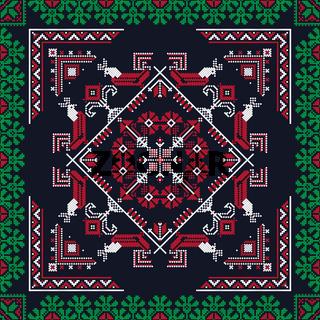 Romanian traditional pattern 217