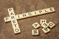 Pareto principle crossword