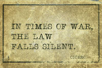 times of war Cicero