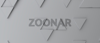 Abstract modern grey triangle background