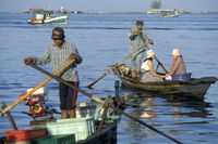 CAMBODIA SIHANOUKVILLE FISHING VILLAGE