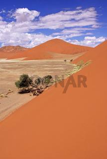 Dünenwelt im Sossusvlei, dunes in Namibia