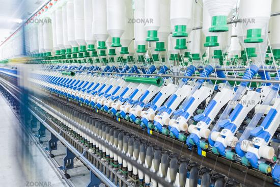 cotton spinning machinery