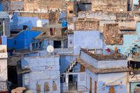 The Blue City Jodhpur, India