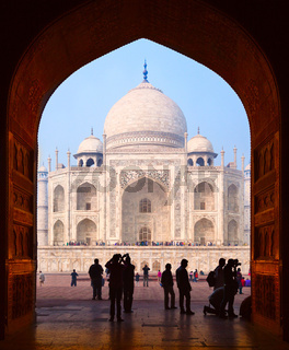 Grand Gates to Taj Mahal