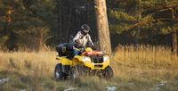 Maneuvering off-road ATV