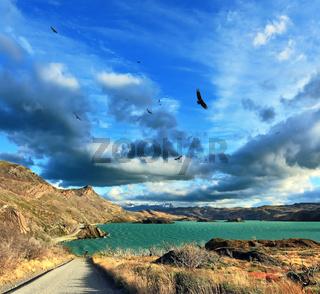 The Lake Pehoe