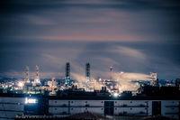Tokyo night view seen from the Keihin region