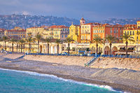 City of Nice Promenade des Anglais and waterfront view, French riviera