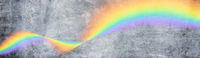 stein wand beton regenbogen symbol hintergrund