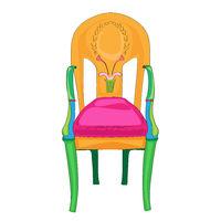 Postmodern Directoire classical chair