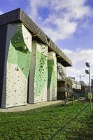 Climbing wall at DAV Centre, Berlin, Germany