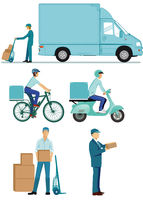 Delivery logistics, delivery couriers. Suppliers