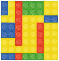 Plastic toy illustration, building block, background image