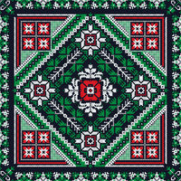 Romanian traditional pattern 206
