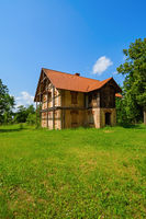 Abandoned rural house