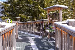 adventure park in Saalbach-Hinterglemm, Austria