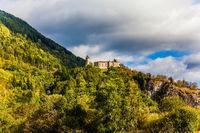 Warm autumn in the Dolomites