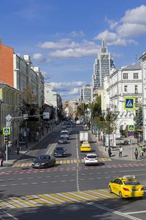 Malaya Dmitrovka Street, Moscow.