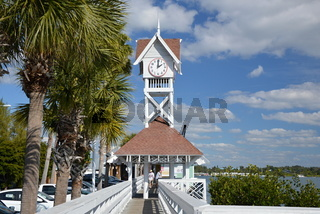 Pier am Strand von Sarasota, Florida