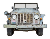 Vintage Military Police Vehicle