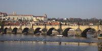Karlsbrücke über der Moldau, Prag
