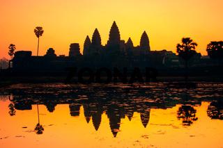 Angkor Wat, Siem Reap, Cambodia, Asia