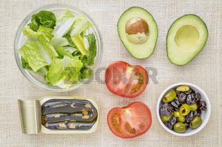 sardine salad ingredients