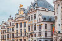 Grande Place in Brussels – Houses of the gilds