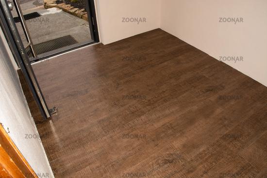 Threaded panel of a laminate floor