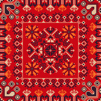 Romanian traditional pattern 183