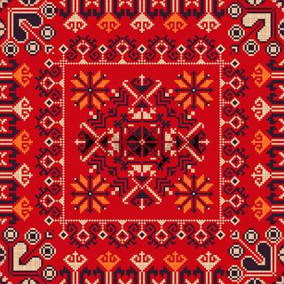 Romanian traditional pattern 183